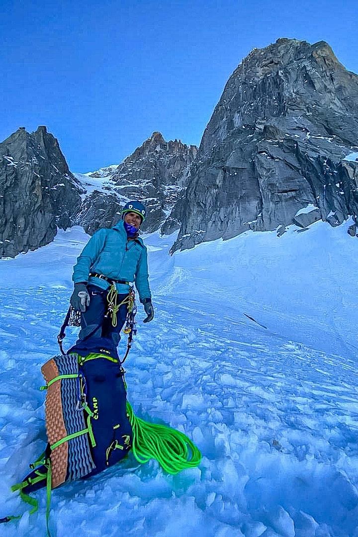Image pour #2 CAMP e-xpérience : Solo hivernal aux Drus avec Charles Dubouloz
