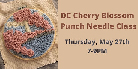 DC Punch Needle Class with Wendy Galietta Williams tickets