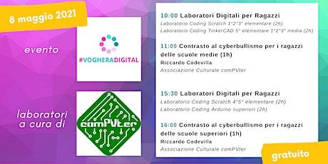 Laboratori Coding comPVter Voghera Digital biglietti