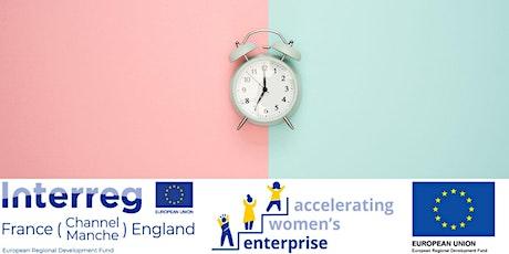 Time Management for Female Entrepreneurs Tickets