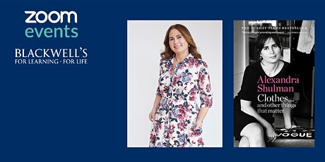 Clothes ... And Other Things That Matter with Alexandra Shulman tickets