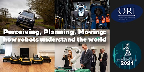 Perceiving, Planning, Moving: how robots understand the world tickets