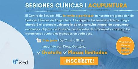 Sesión Clínica de ACUPUNTURA - Junio entradas