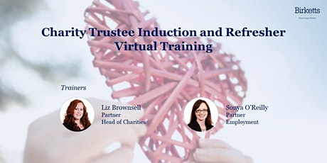 Charity Trustee Induction and Refresher Virtual Training (2022) tickets