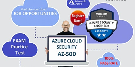 Become Microsoft Azure Certified Cloud Security Engineer AZ-500 tickets