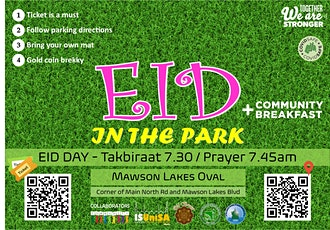 Eid in the Park tickets