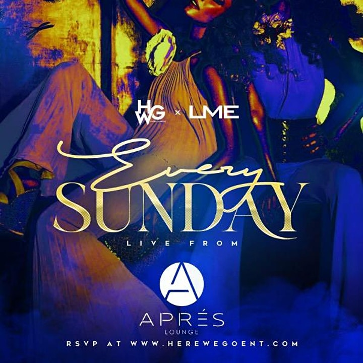 EVERY SUNDAY LIVE FROM APRES LOUNGE image