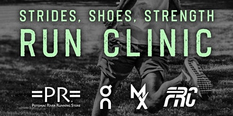 Strides, Shoes, Strength- An Interactive Running Clinic tickets