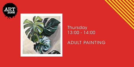 Live  Acrylic Painting Class for Adults tickets