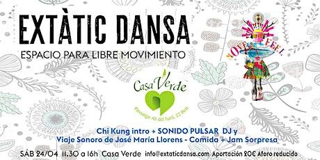 Ecstatic Dance + Viaje Sonoro y Comida entradas