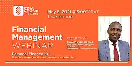 Financial Management Webinar tickets