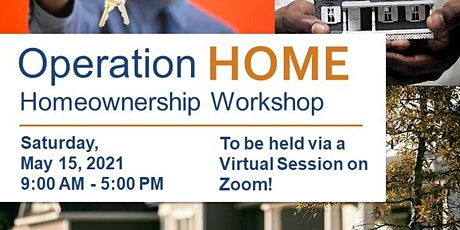 Operation Home Workshop - May 2021 tickets