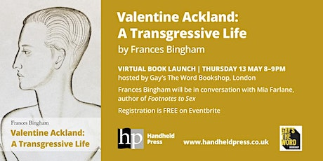 Valentine Ackland - Virtual Book Launch tickets