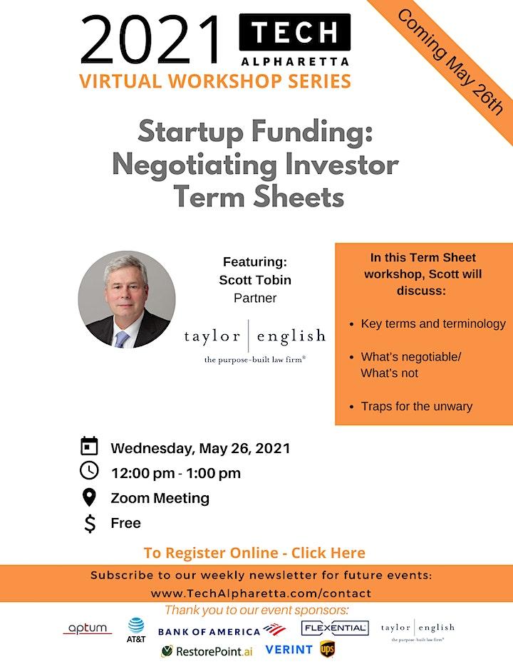Startup Funding: Negotiating Investor  Term Sheets image