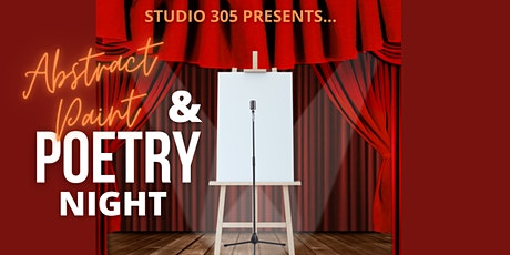 Abstract Paint & Poetry Night! tickets