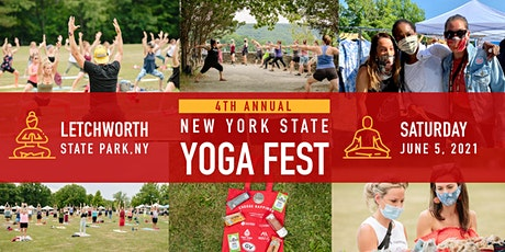 4th Annual New York State Yoga Festival at Letchworth State Park tickets