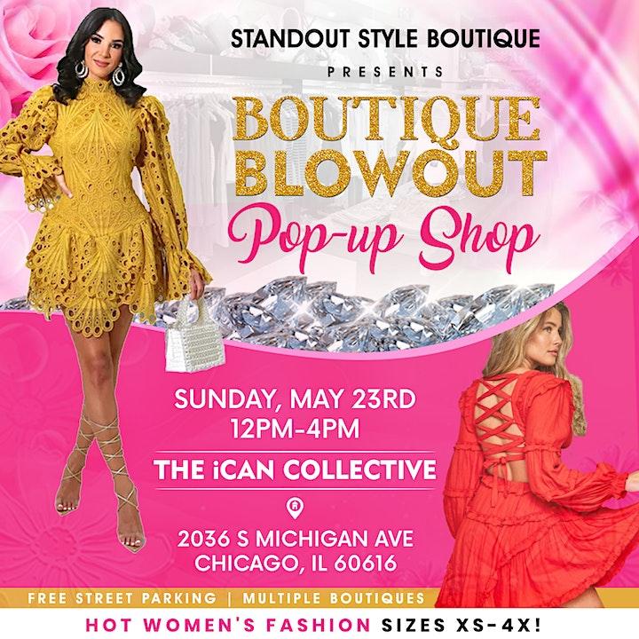 Boutique Blowout + Pop-up Shop image