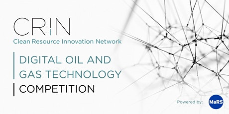 CRIN Digital Oil and Gas Technology Competition Launch tickets
