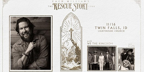 KTSY Welcomes Zach Williams Rescue Story - The Tour tickets