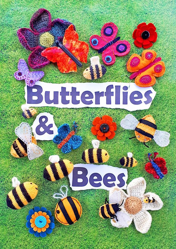 Butterflies & Bees Yarnstorming Workshop image