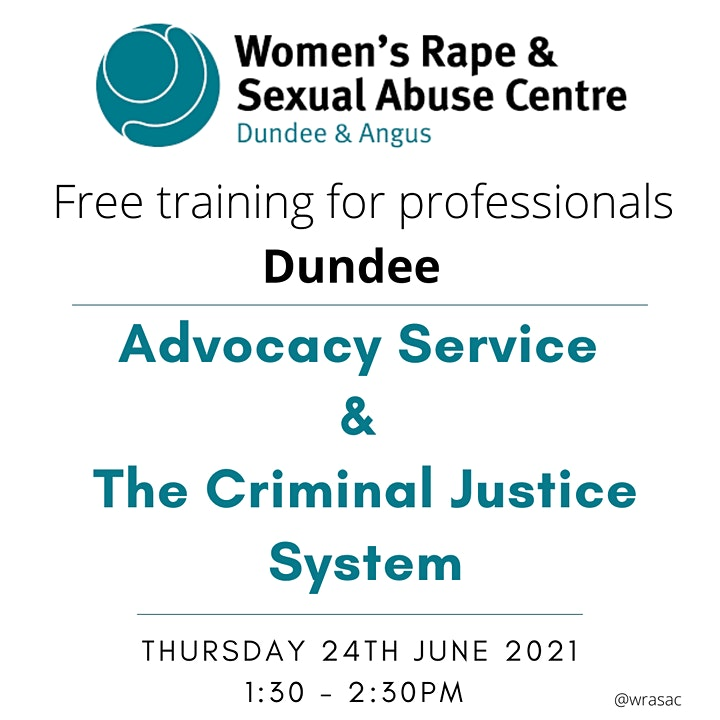 WRASAC Advocacy Service and the Criminal Justice System image