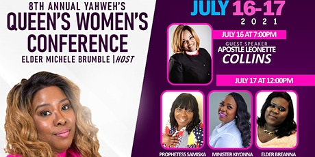 Yahweh's Queens 8th Annual Womens Conference tickets