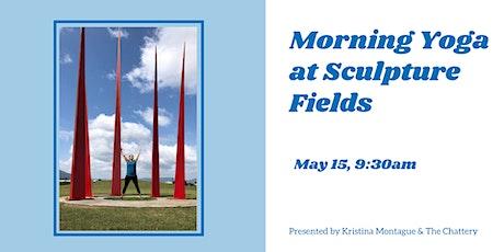 Morning Yoga at Sculpture Fields - OUTDOOR CLASS tickets