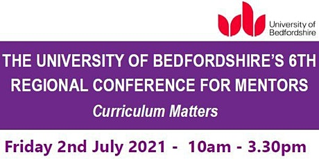 University of Bedfordshire Mentor Conference 2021 tickets