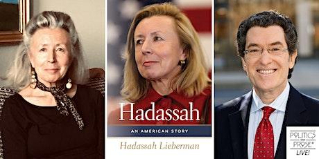 P&P Live! Hadassah Lieberman| HADASSAH: AN AMERICAN STORY tickets
