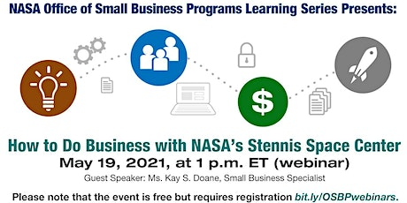 OSBP Learning Series: How to Do Business with NASA's Stennis Space Center tickets
