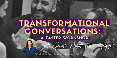 Transformational Conversations Programme: A Taster Workshop tickets