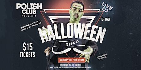 HALLOWEEN Disco | October 30 @ The Polish Club tickets