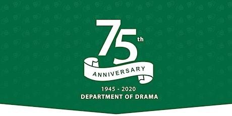 Department of Drama Virtual 75th Anniversary: Unity (1918) Preshow talk tickets