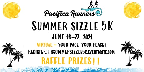 Pacifica Runners Summer Sizzle Virtual 5K 2021 tickets