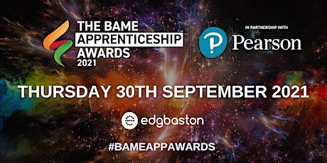 BAME Apprenticeship Awards 2021 tickets