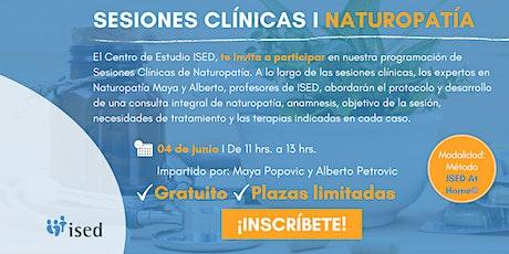 Sesión Clínica de NATUROPATÍA - Junio entradas