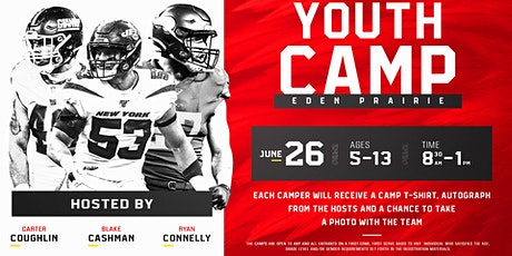 2021 Cashman, Coughlin and Connelly Youth Football Camp tickets