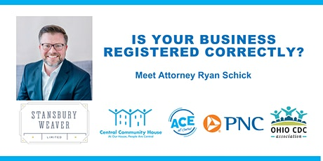 ACE: Is Your Business Registered Correctly? tickets