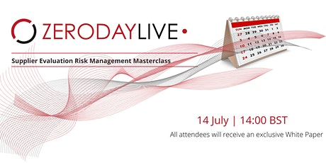 Supplier Evaluation Risk Management Masterclass biglietti