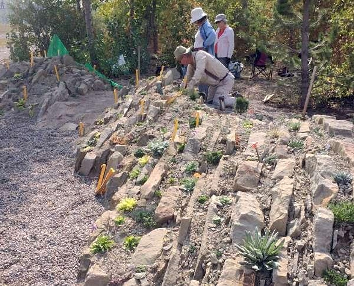 CRAGS online talk:  Stone, Slope, and Aspect in rock gardens image