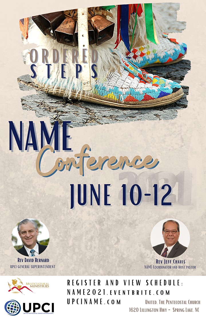 NAME Conference 2021 - Ordered Steps image