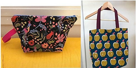 Sew a Tote Bag- Heather Hutchison Harris Hybrid online & in-person tickets