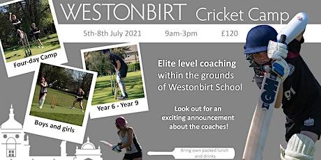 Westonbirt Cricket Camp tickets