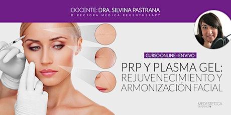 Curso de PRP y Plasma Gel: Rejuvenecimiento y Armonización facial entradas