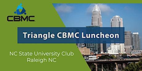 Triangle CBMC Luncheon tickets