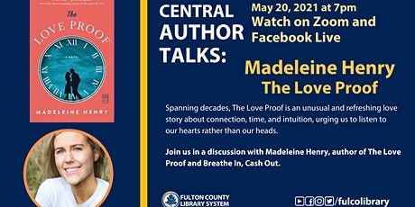 Central Author Talks with Madeleine Henry tickets
