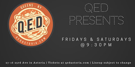 QED Presents - Pro Stand Up Comedy Showcase tickets