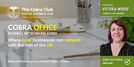 Cobra Office - Business Networking Event, Rochdale, Oldham, Manchester tickets