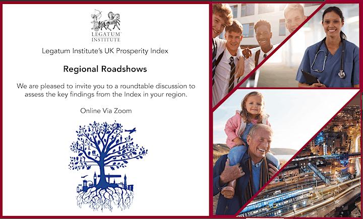 North West Regional Roadshow - UK Prosperity Index image