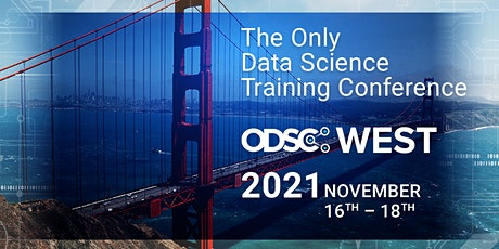 ODSC West 2021 | Virtual Conference Registrations tickets